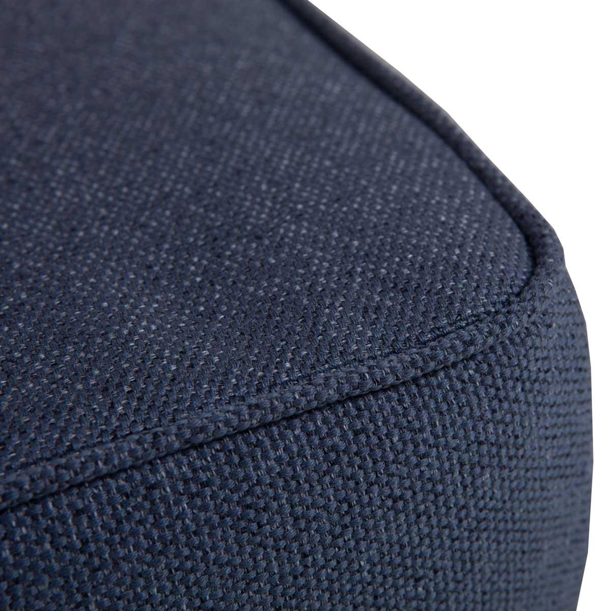 Loungekussen premium zit en rug 73x73 carré Outdoor Manchester denim grey