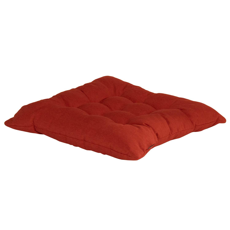 Zitkussen toscane 46x46cm - Havana red
