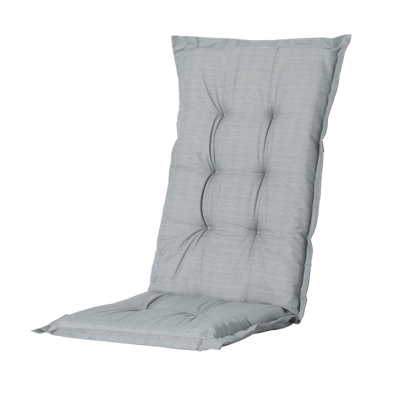 Tuinkussen hoge rug - Basic Grey