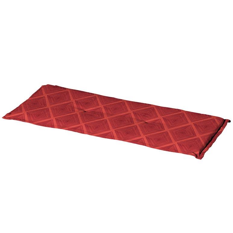 Bankkussen 120cm - Viro red