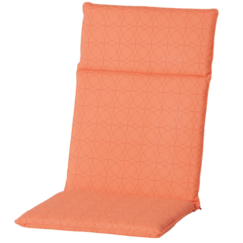 Tuinkussen hoge rug universal - Outdoor Circle orange