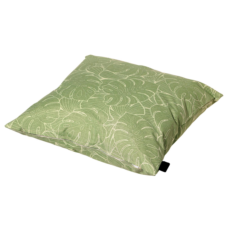 Sierkussen 45x45cm - Outdoor Palm green