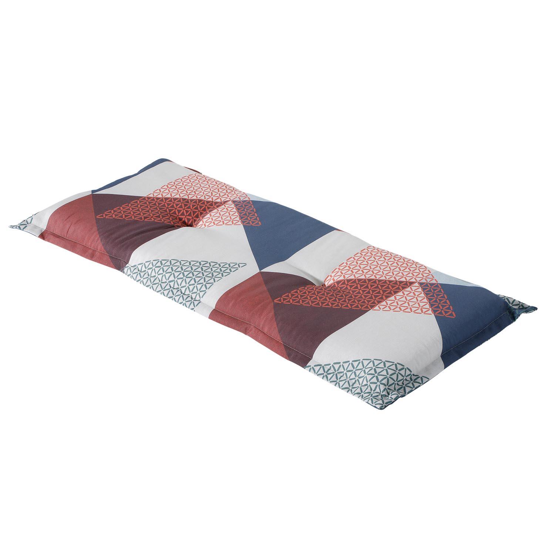 Bankkussen 150cm - Triangle blue