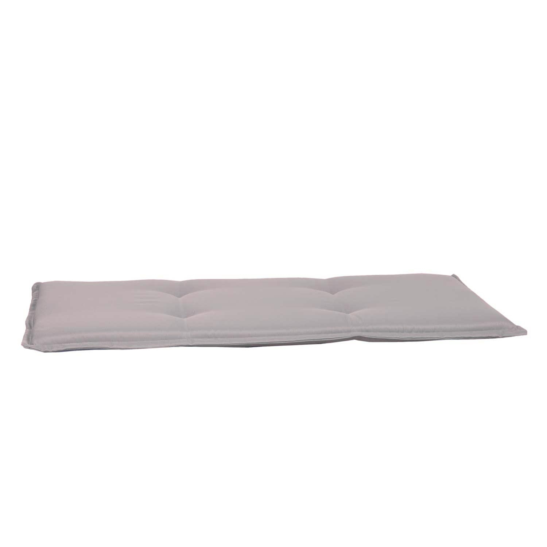 Bankkussen 120cm - Pedro light grey (waterafstotend)