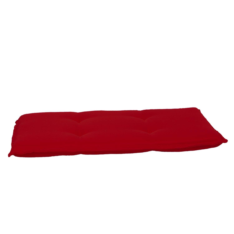 Bankkussen 120cm - Pedro red (waterafstotend)