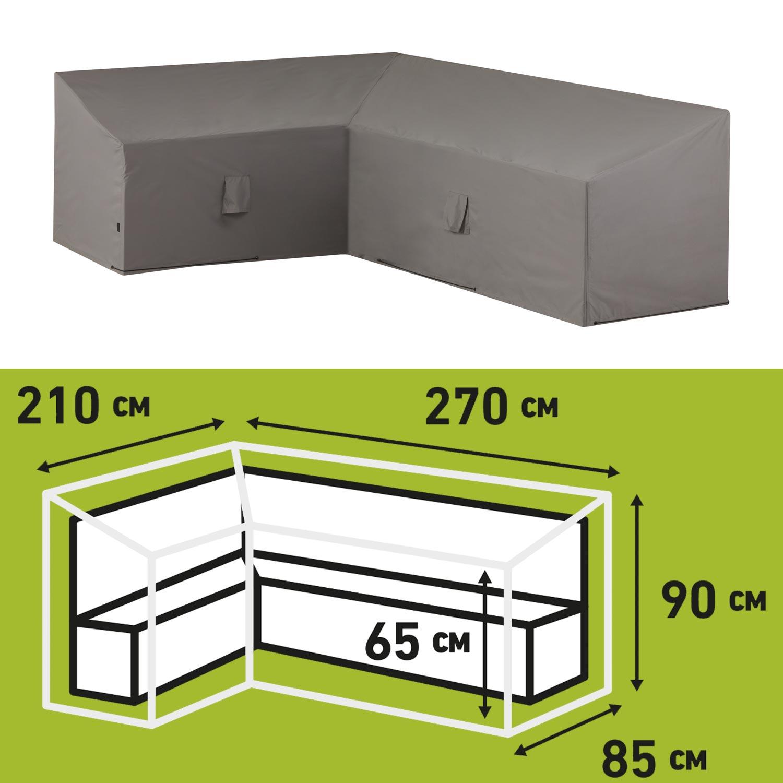 Loungesethoes 270x210x65/90cm links