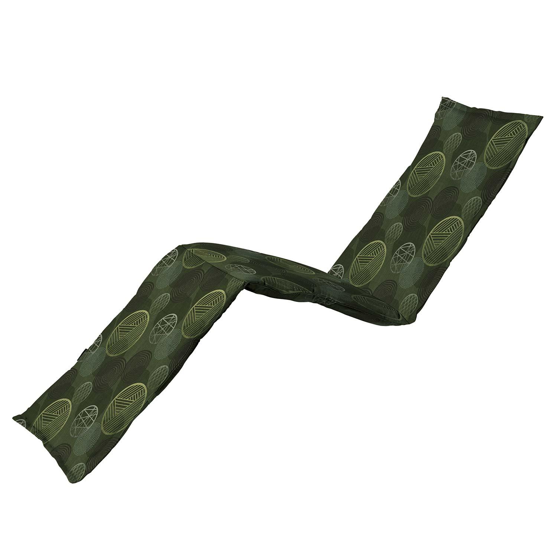 Ligbedkussen - Circle green