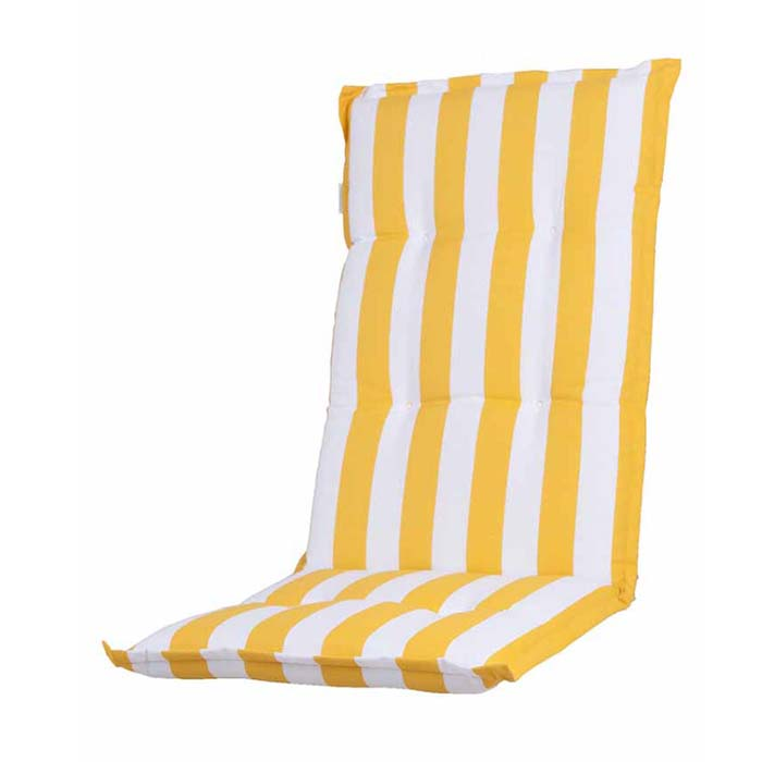 Tuinkussen hoge rug - Carlos Yellow