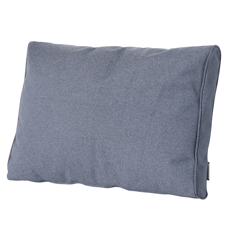 Loungekussen ruggedeelte premium 60x40cm Outdoor Manchester denim grey