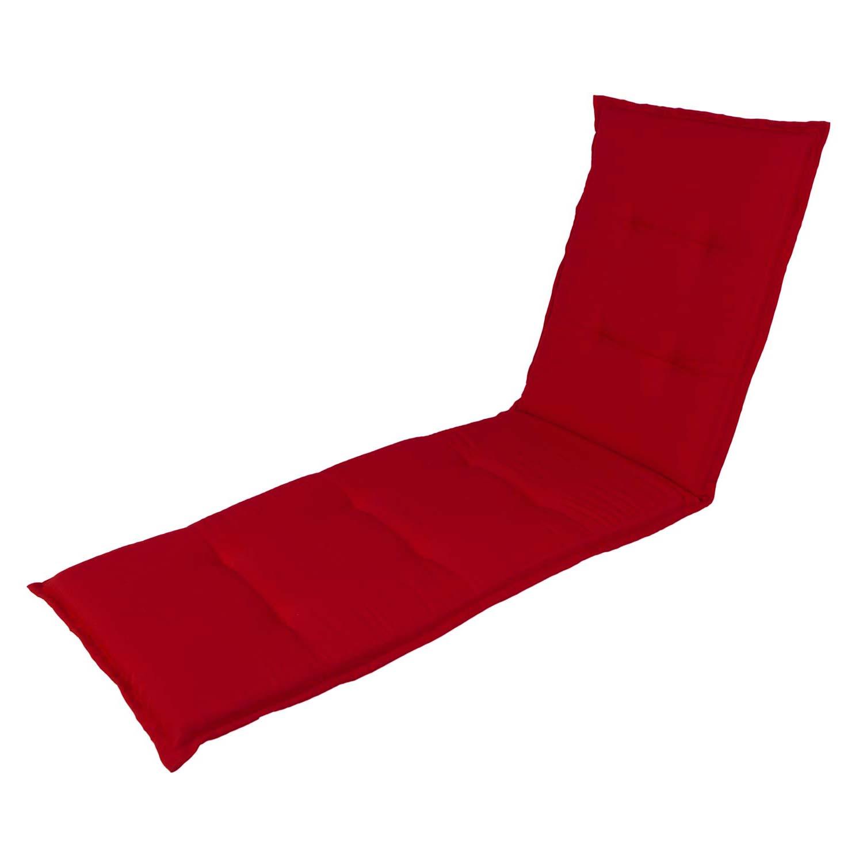 Ligbedkussen - Pedro red (waterafstotend)
