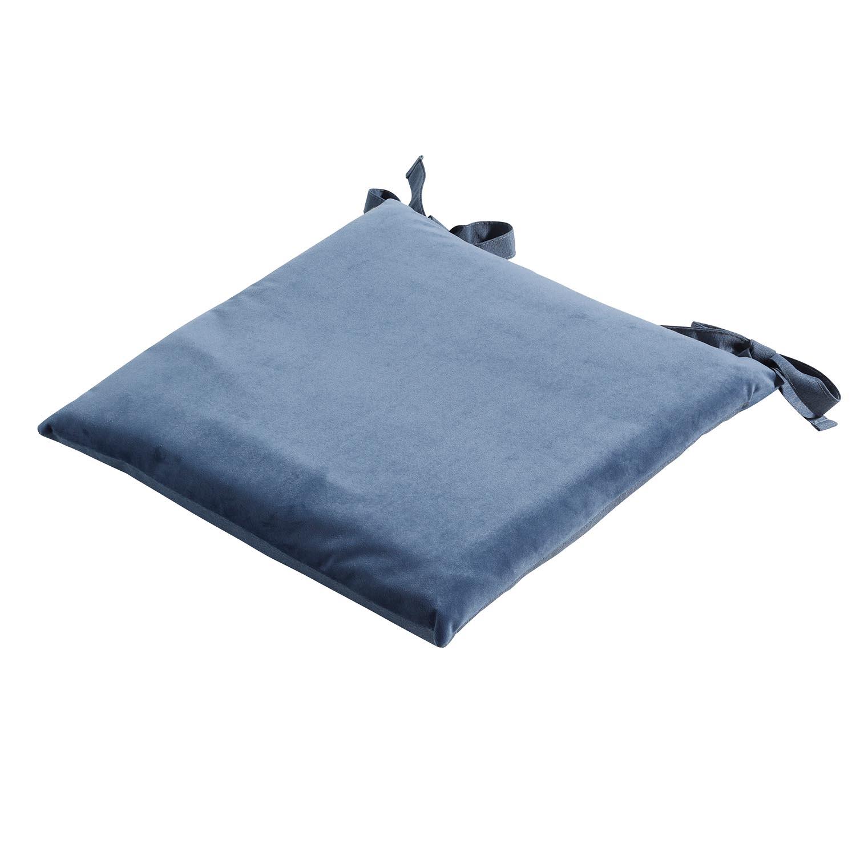 Zitkussen Toscane 46x46cm - Outdoor Velvet/panama safier blue