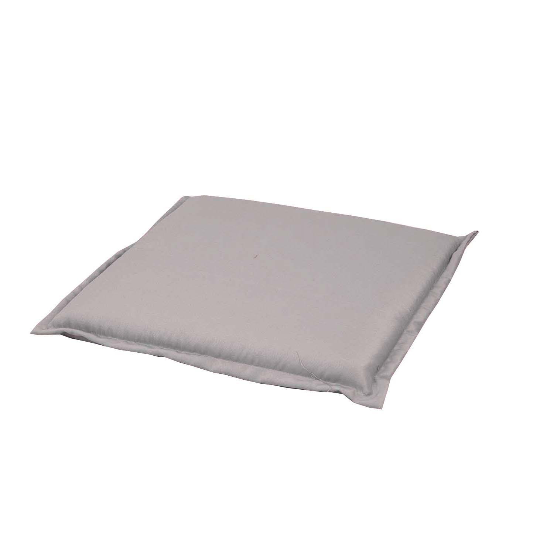 Hockerkussen 50x50cm Pedro light grey waterafstotend