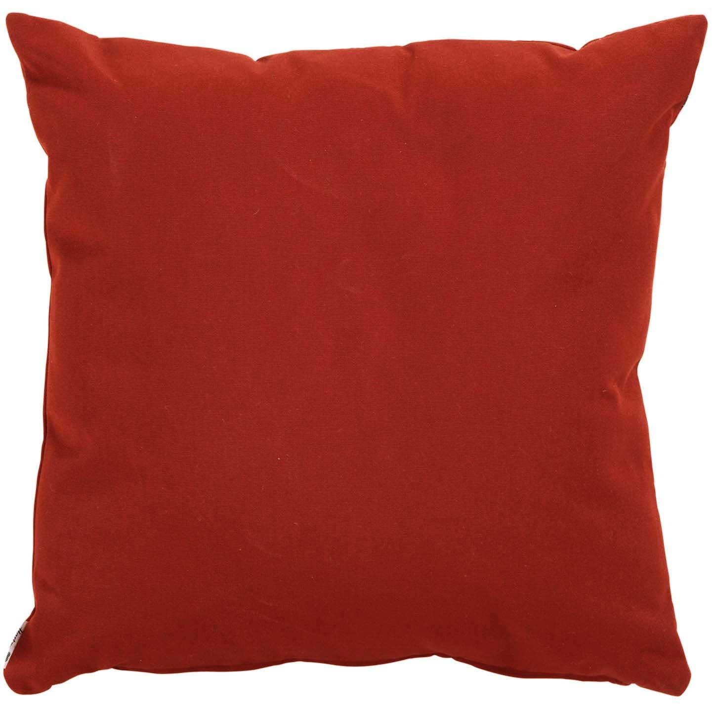 Sierkussen 50x50cm - Havana red