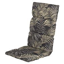 Textileenkussen hoge rug - Belize dark grey