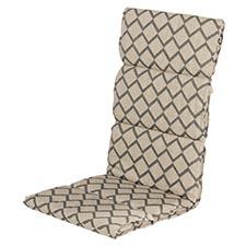 Textileenkussen hoge rug - Jason sand