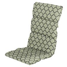 Textileenkussen hoge rug - Jason green
