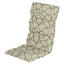 Textileenkussen hoge rug - Pearl green