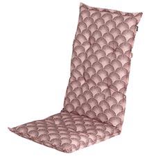 Tuinkussen hoge rug - Yara pink