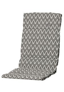 Textileenkussen hoge rug - Outdoor Magic grey