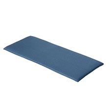 Bankkussen 140cm - Outdoor Oxford blue