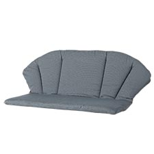 Toledo/Elegance bankkussen - Rib grey