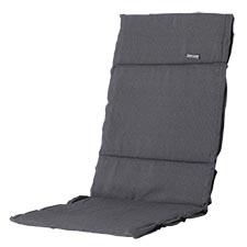 Textileenkussen hoge rug - Panama Grey