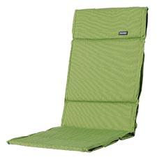 Textileenkussen hoge rug - Rib Lime