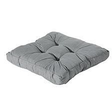 Loungekussen 70x70cm - Basic grey
