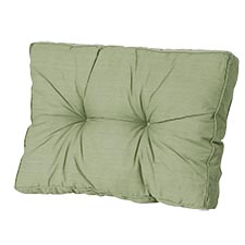 Loungekussen ruggedeelte 70x40cm - Basic green