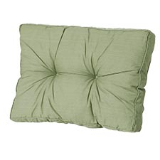 Loungekussen ruggedeelte 60x40cm - Basic green