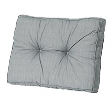 Loungekussen ruggedeelte 60x40cm - Basic grey