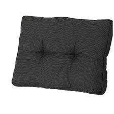 Loungekussen ruggedeelte 60x40cm - Rib Black