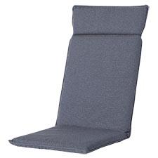 Tuinkussen hoge rug universal - Outdoor Manchester denim grey