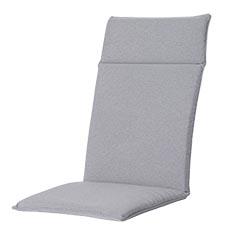 Tuinkussen hoge rug universal - Outdoor Manchester light grey