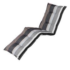 Ligbedkussen - Stripe grey