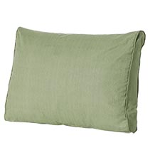 Loungekussen ruggedeelte 60x40cm - Carré Basic green