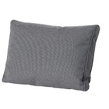 Loungekussen ruggedeelte premium 60x40cm - Outdoor Manchester grey