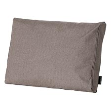 Loungekussen ruggedeelte 60x40cm - Outdoor Oxford taupe