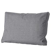 Loungekussen ruggedeelte 60x40cm - Outdoor Oxford grey