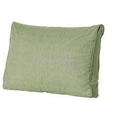 Loungekussen ruggedeelte 73x40cm - Carré Basic green