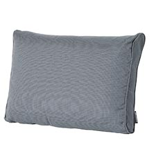 Loungekussen ruggedeelte 73x40cm - Carré Rib grey