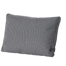 Loungekussen ruggedeelte premium 73x40cm - Outdoor Manchester grey