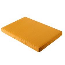 Loungekussen pallet carre 120x80cm - Panama golden glow