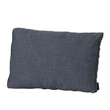 Loungekussen ruggedeelte 60x40cm - Melange grey