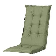 Tuinkussen hoge rug - Basic green