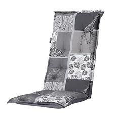 Tuinkussen hoge rug - Sifra grey