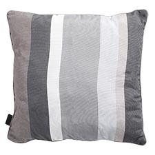 Sierkussen 50x50cm - Stripe grey