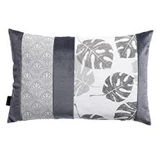 Sierkussen 60x40cm - Velvet match grey