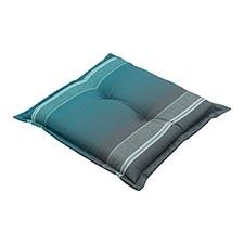 Hockerkussen 50x50cm - Stef sea blue