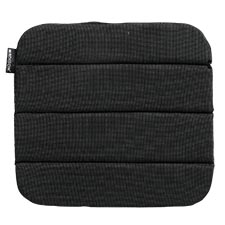 Sophie zitkussen 40x40cm - Rib black